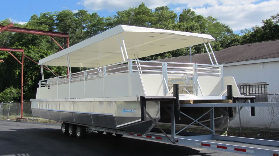 Custom Catamarans - Custom Aluminum Catamaran Boats